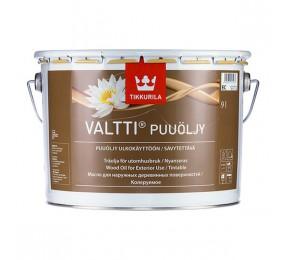 Tikkurila VALTTI (9 л) бесцветное масло для террасной доски