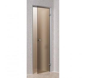Дверь ANDRES для турeцкой парной, 70х190 см, матовая бронза