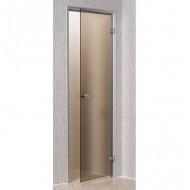 Дверь ANDRES для турeцкой парной, 80х200 см, бронза