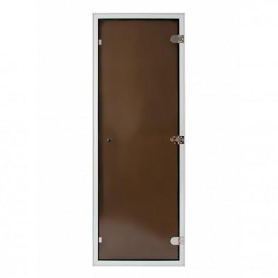 Дверь Soul Sauna для турецкой парной 700х1900 мм с порогом, стекло бронза