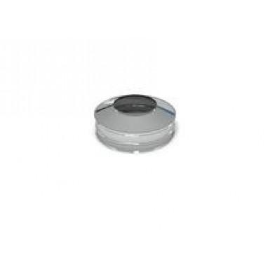 Заглушка верхняя для дымохода 115/215 с утеплением