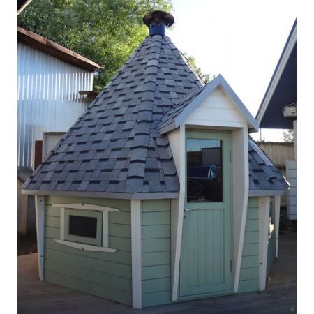 Гриль-домик восьмигранный