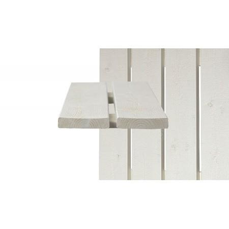 Окрашенная ДОСКА с тонкопиленой поверхностью Scandic Exterior (для забора)
