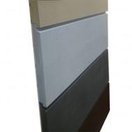 Панели облицовочные «Норвегия», хвоя, 40х220 мм, с тонкопиленой поверхностью, окрашенные