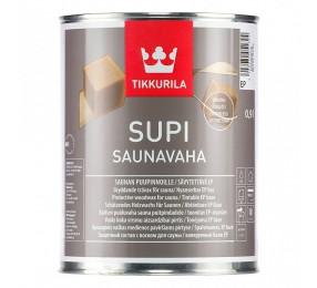 Защитный состав для сауны Tikkurila Supi Saunavaha ЧЁРНЫЙ