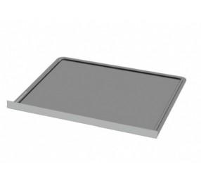 Лист притопочный, нерж. сталь, 650х500 мм