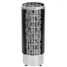 Harvia Cilindro PC90H - электрическая каменка, встроенный пульт управления