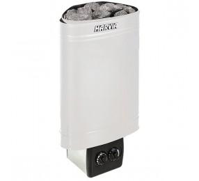 Harvia Delta D23 - электрическая каменка угловая, встроенное управление