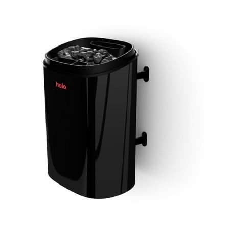 Helo Fonda DUO 4.4/6.6 черная - электрическая каменка с пультом управления