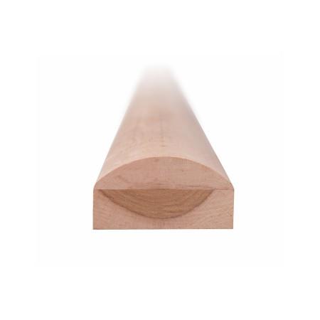 Торцевая планка, ольха, 42х80 мм