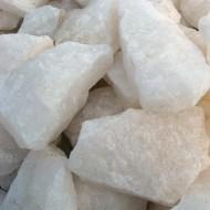 Белый кварц, колотый, 10 кг