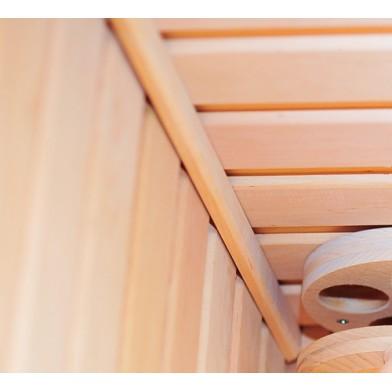 Плинтус потолочный Люкс (ольха) 15х12х2000 мм