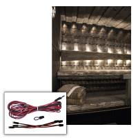 Дополнительный комплект светодиод. освещения сауны Cariitti LED 3000 K (3 светодиода), арт. 1532655