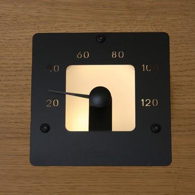 Термометр Cariitti SQ черный, арт. 1545854