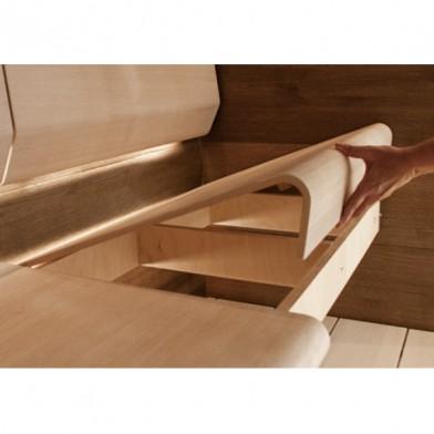 Полок (сиденье) TAIVE, европейский дуб, 1100х600 мм
