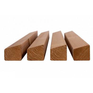 Планкен (трапеция) термо-сосна, сорт АВ (Финляндия) - 4,2 м