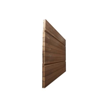 Панели клееные, термососна Pine Thermo D, 19х235 АВ