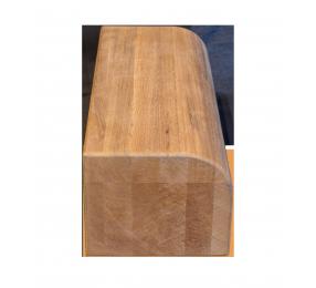 Торцевая планка, новозеландская термососна Pino Premio, 80х100 мм