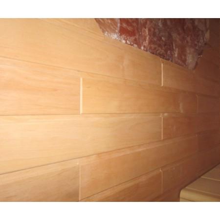 Вагонка Ольха МОЗАИКА, с торцевым соединением, сорт А 15Х94(85) мм - 0,6 м