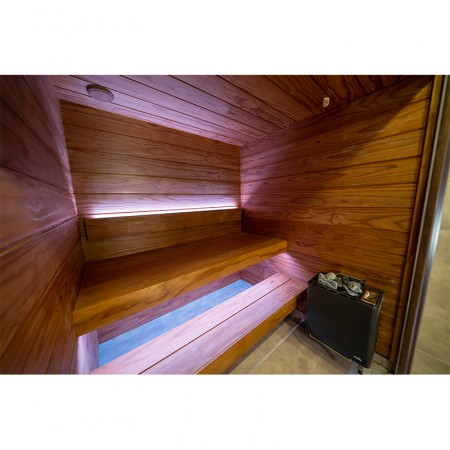 Вагонка темная, 15х140(130), Новозеландская термососна PINO Premio