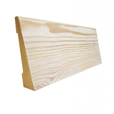 Плинтус лиственница, широкий 90 мм