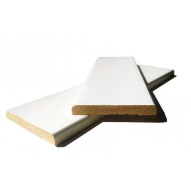 Наличник хвоя, окрашенный 100 мм, белая лазурь