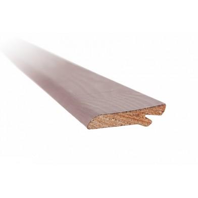 Плинтус хвойный сращенный, окрашенный 13х57 мм, серый - 2,0 м