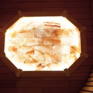 Панно Восьмиугольник из гималайской соли