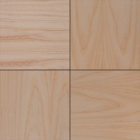 Шпонированные панели «Мозаика», белый ясень, 300х300х11 мм