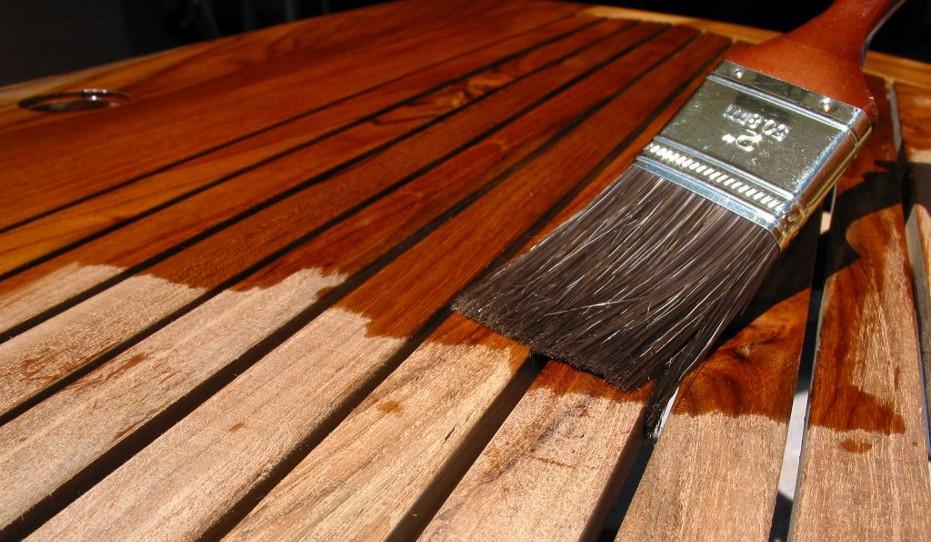 Защита древесины для наружных работ